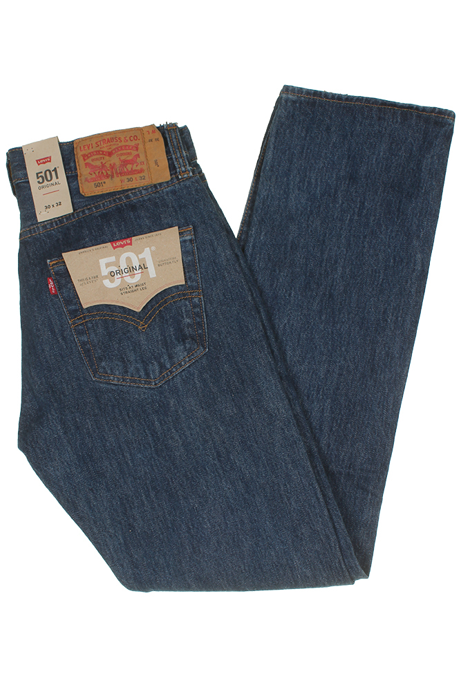 Levis-Men-039-s-501-Original-Shrink-to-Fit-Button-Fly-Jeans thumbnail 9