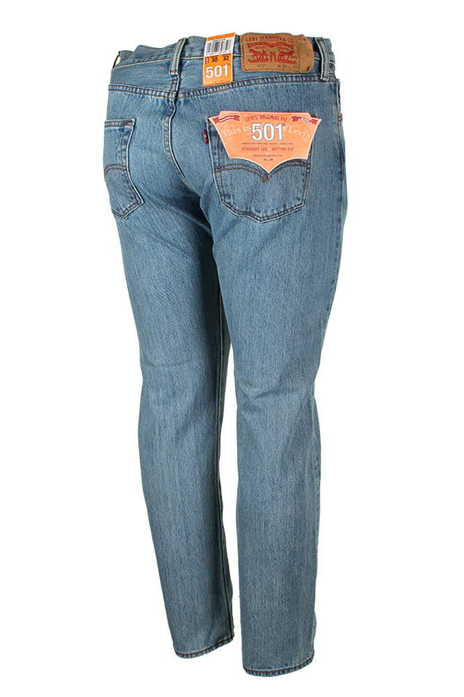 Levis-Men-039-s-501-Original-Shrink-to-Fit-Button-Fly-Jeans thumbnail 17