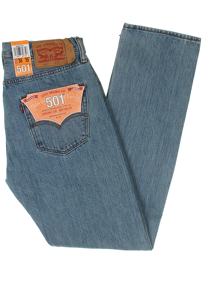 Levis-Men-039-s-501-Original-Shrink-to-Fit-Button-Fly-Jeans thumbnail 18