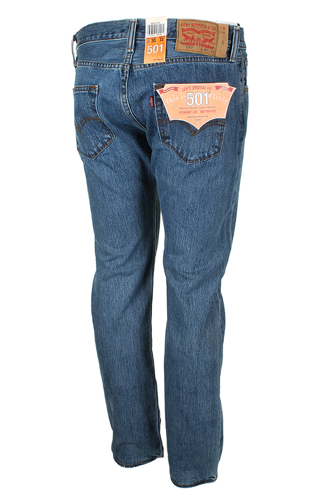 Levis-Men-039-s-501-Original-Shrink-to-Fit-Button-Fly-Jeans thumbnail 20