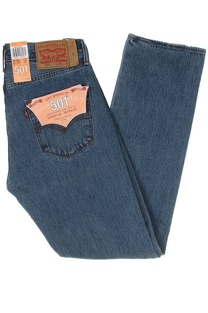 Levis-Men-039-s-501-Original-Shrink-to-Fit-Button-Fly-Jeans thumbnail 21