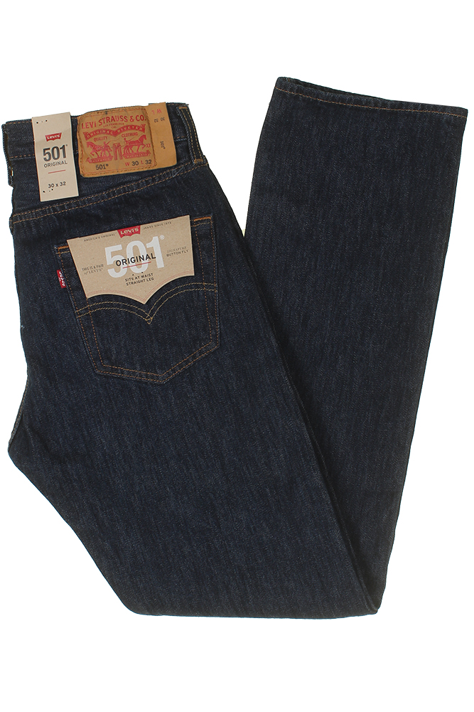 Levis-Men-039-s-501-Original-Shrink-to-Fit-Button-Fly-Jeans thumbnail 30