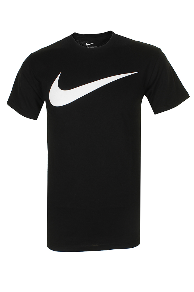 Nike-Men-039-s-Athletic-Wear-Short-Sleeve-Swoosh-Graphic-Workout-Active-Gym-T-Shirt thumbnail 2