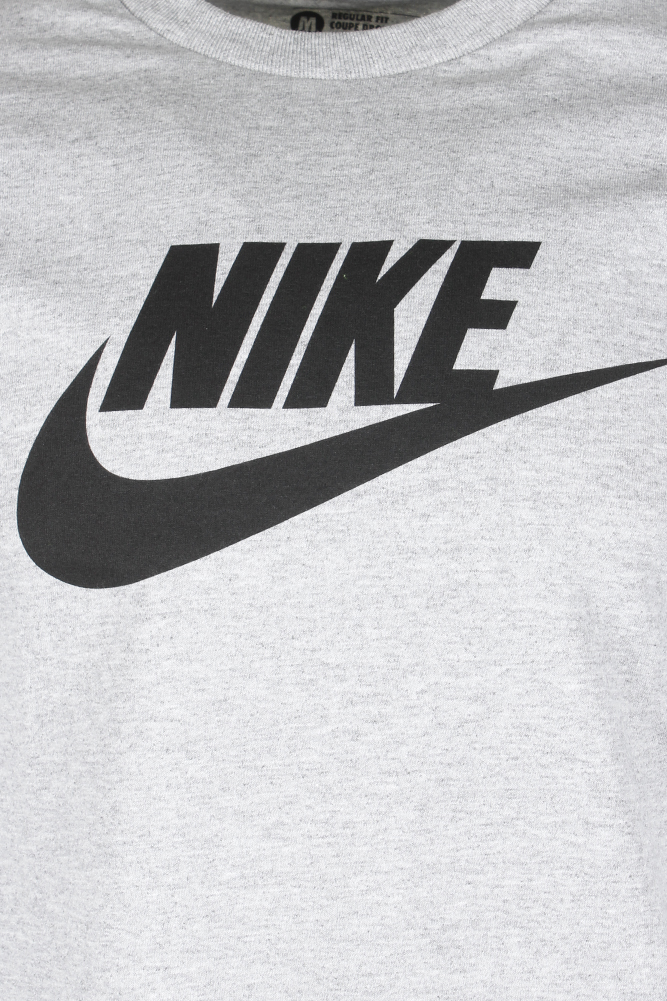 Nike-Men-039-s-Short-Sleeve-Logo-Swoosh-Printed-Active-T-Shirt thumbnail 4