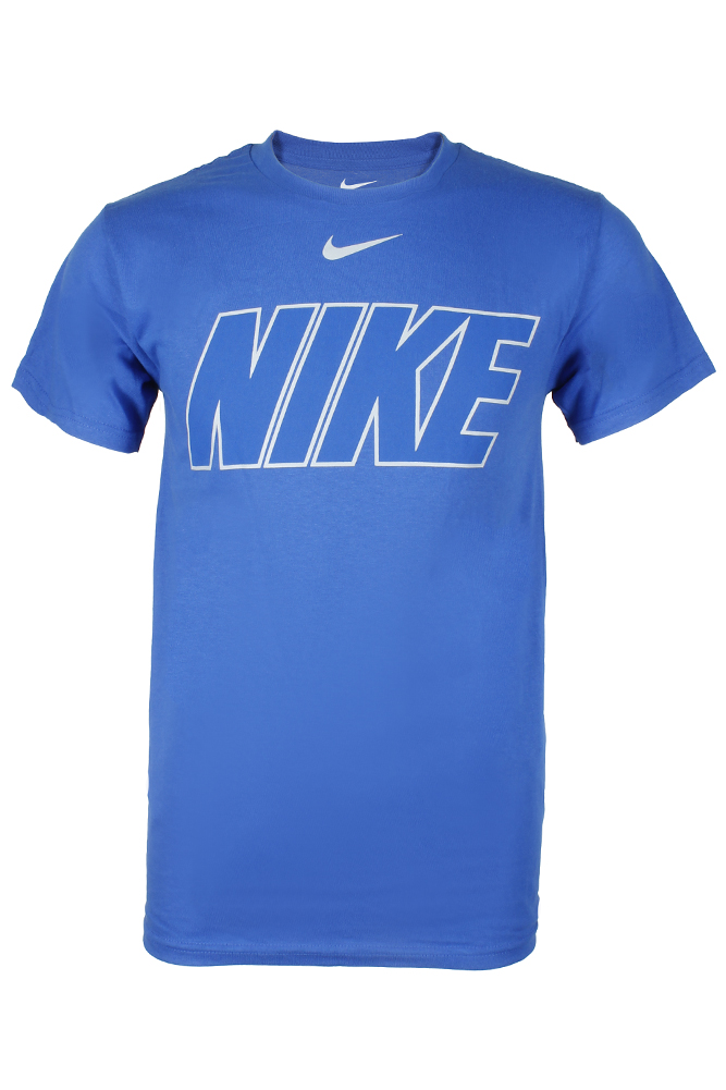 Nike-Men-039-s-Athletic-Wear-Short-Sleeve-Logo-Graphic-Crew-Neck-Active-T-Shirt thumbnail 5