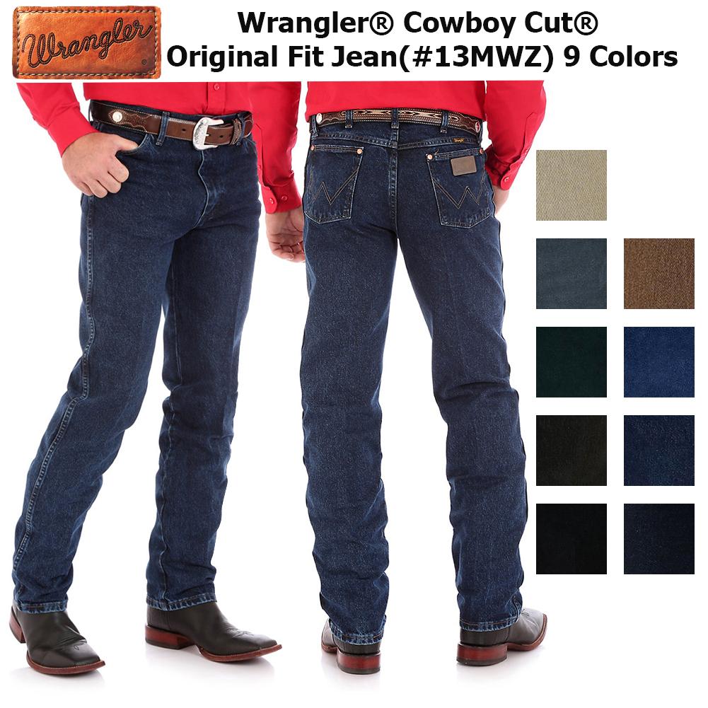 4442d4ee Details about Wrangler Men's Cowboy Cut Original Fit Jeans
