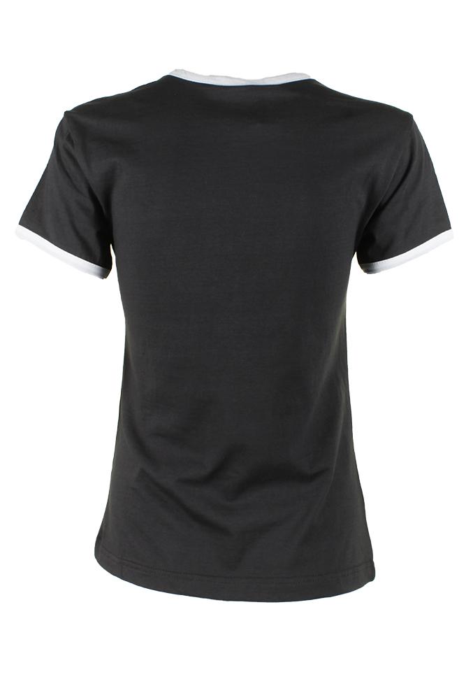 Adidas-Ladies-Short-Sleeve-Classic-Logo-Graphic-Essential-T-Shirt thumbnail 6