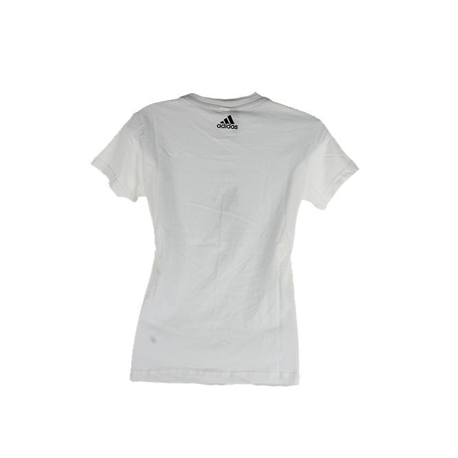 Adidas-Ladies-Short-Sleeve-Classic-Logo-Graphic-Essential-T-Shirt thumbnail 12