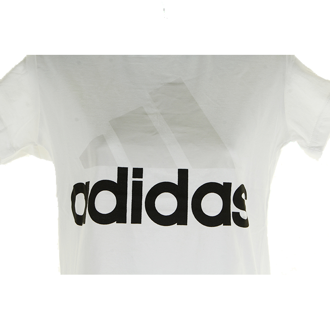 Adidas-Ladies-Short-Sleeve-Classic-Logo-Graphic-Essential-T-Shirt thumbnail 13