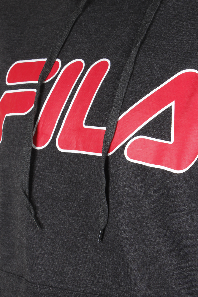 Fila-Men-039-s-Filled-Outline-Graphic-Logo-Front-Pocket-Heavy-Fleece-Hoodie thumbnail 7