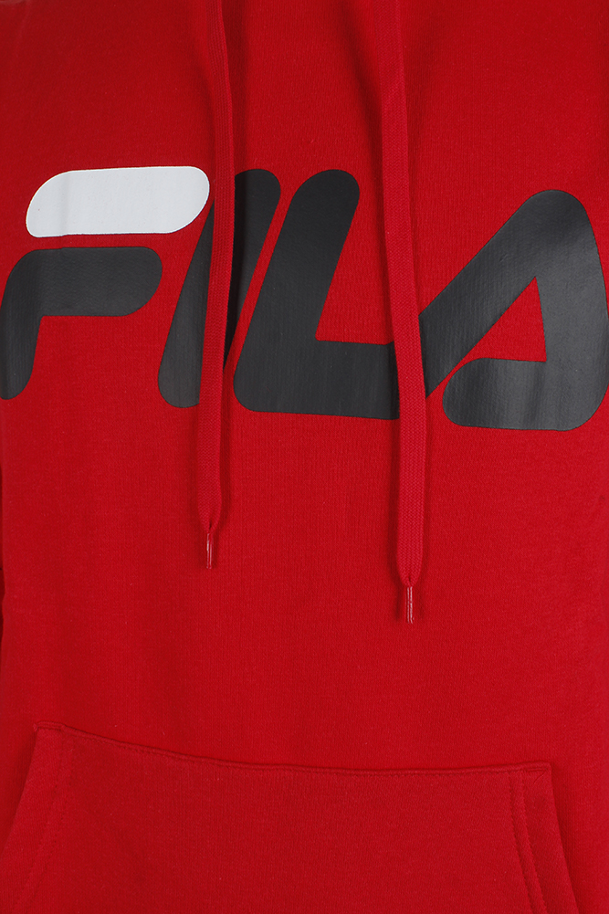 Fila-Men-039-s-Classic-Logo-Heavy-Speed-Front-Pocket-Heavy-Fleece-Hoodie thumbnail 4