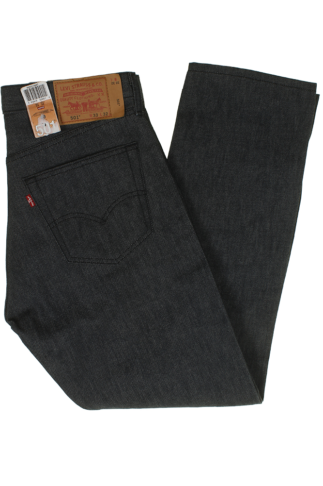 miniature 13 - Levi's Homme 501 Original Shrink To Fit Bouton Fly Classic Rise Denim Jeans