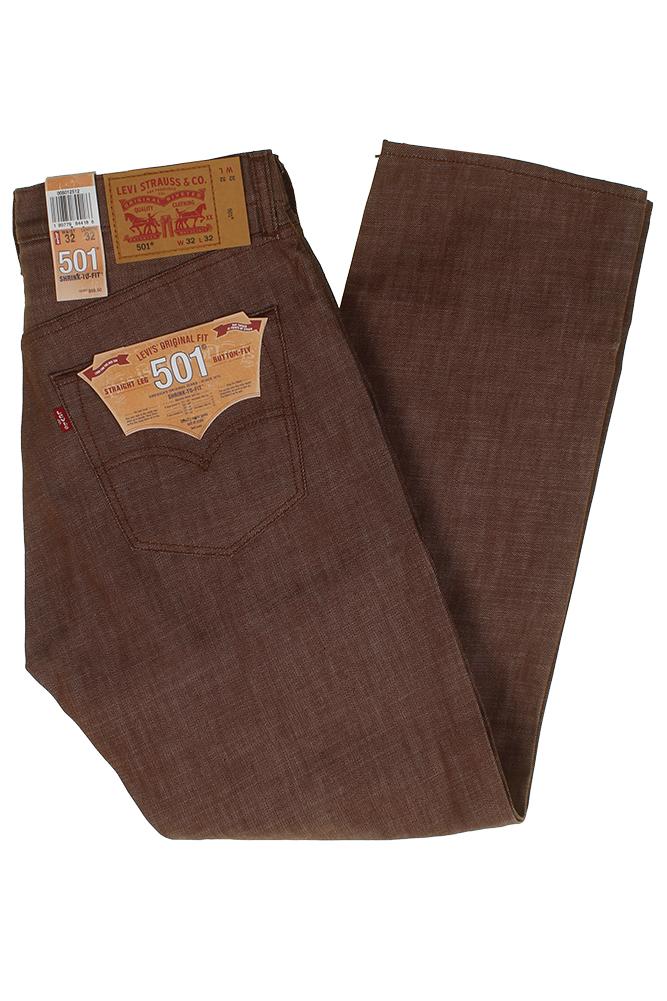 Levi-039-S-MEN-039-S-501-ORIGINALE-Strizzacervelli-Per-Adattarsi-Bottone-Classic-Rise-Denim-Jeans miniatura 19