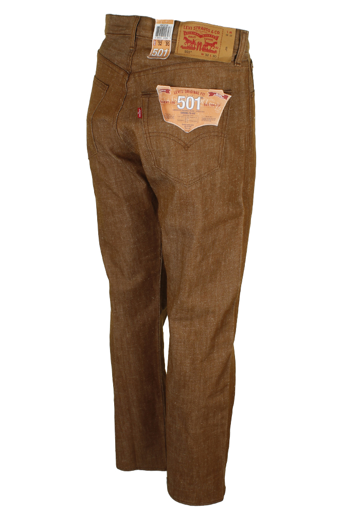 miniature 27 - Levi's Homme 501 Original Shrink To Fit Bouton Fly Classic Rise Denim Jeans