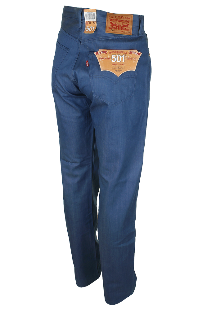 Levi-039-s-Men-039-s-501-Original-Shrink-to-Fit-Button-Fly-Jeans thumbnail 21