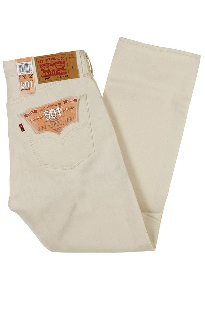 miniature 4 - Levi's Homme 501 Denim Original Shrink To Fit Braguette Boutonnée Jeans