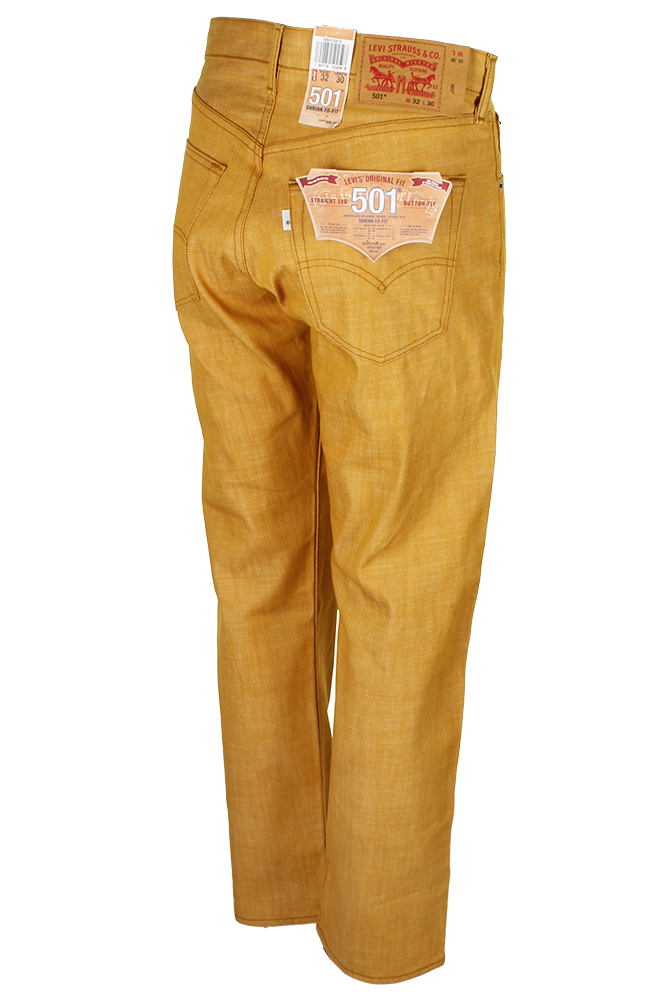 miniature 6 - Levi's Homme 501 Denim Original Shrink To Fit Braguette Boutonnée Jeans