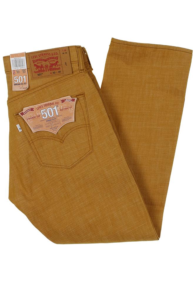 miniature 7 - Levi's Homme 501 Denim Original Shrink To Fit Braguette Boutonnée Jeans