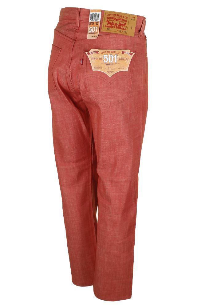 miniature 9 - Levi's Homme 501 Denim Original Shrink To Fit Braguette Boutonnée Jeans