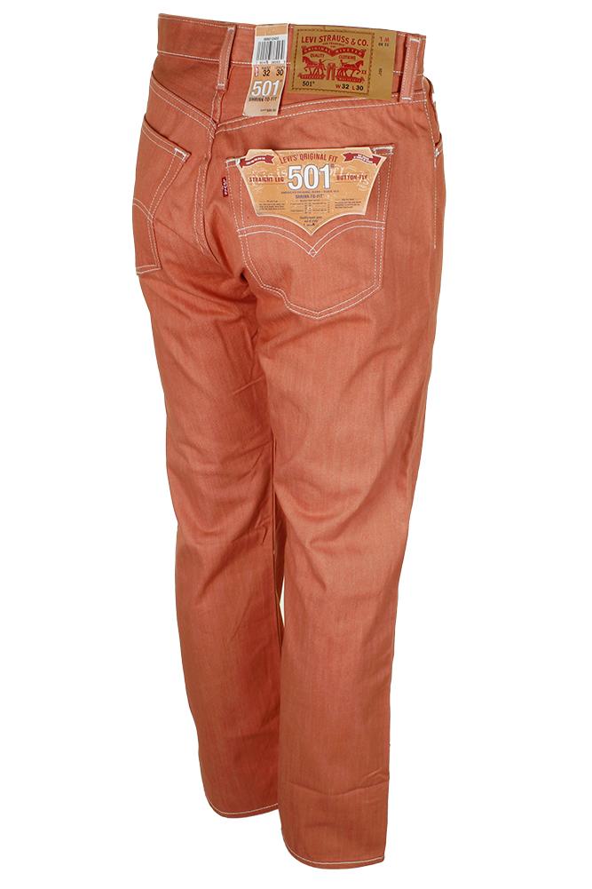 miniature 15 - Levi's Homme 501 Denim Original Shrink To Fit Braguette Boutonnée Jeans