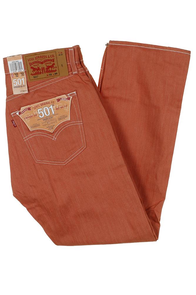 miniature 16 - Levi's Homme 501 Denim Original Shrink To Fit Braguette Boutonnée Jeans