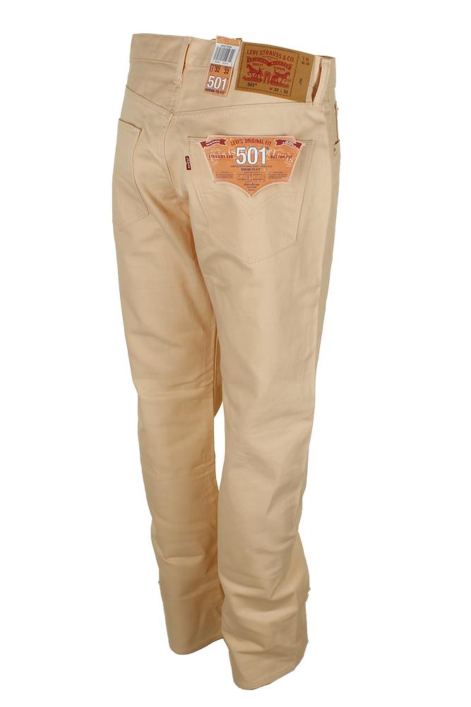 miniature 18 - Levi's Homme 501 Denim Original Shrink To Fit Braguette Boutonnée Jeans