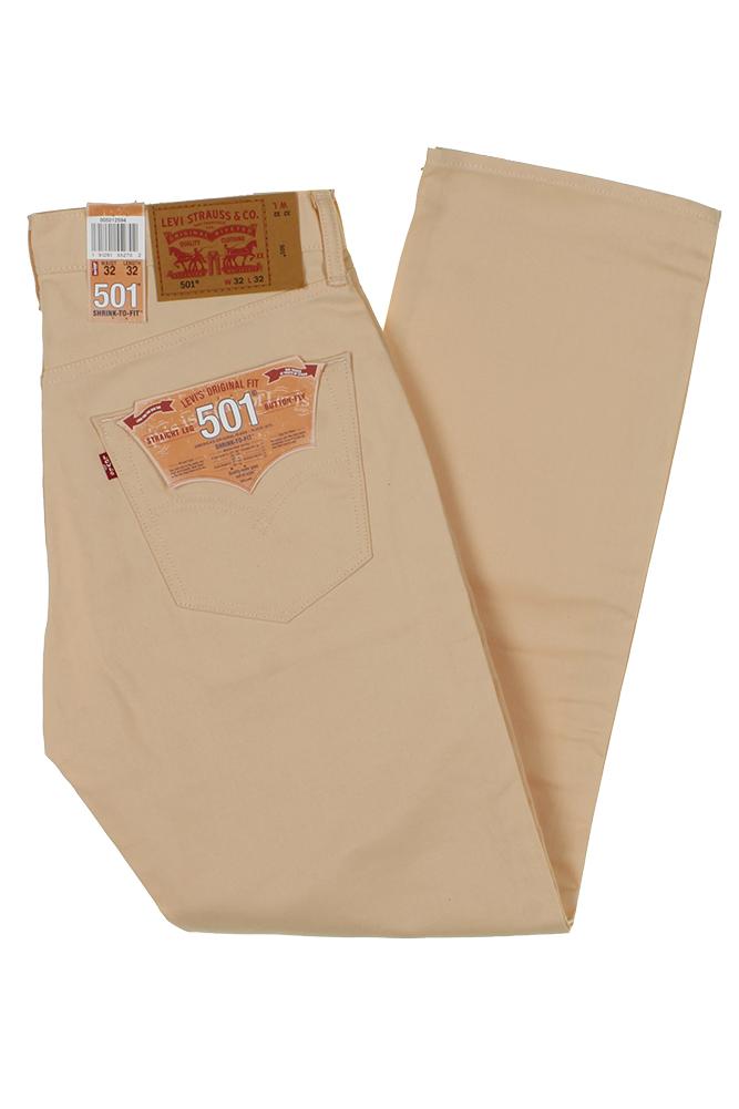 miniature 19 - Levi's Homme 501 Denim Original Shrink To Fit Braguette Boutonnée Jeans