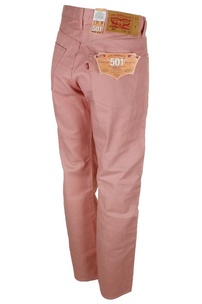 miniature 21 - Levi's Homme 501 Denim Original Shrink To Fit Braguette Boutonnée Jeans
