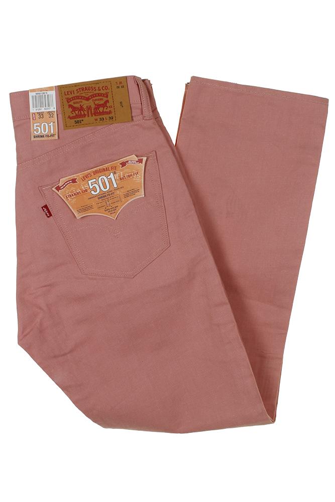 miniature 22 - Levi's Homme 501 Denim Original Shrink To Fit Braguette Boutonnée Jeans