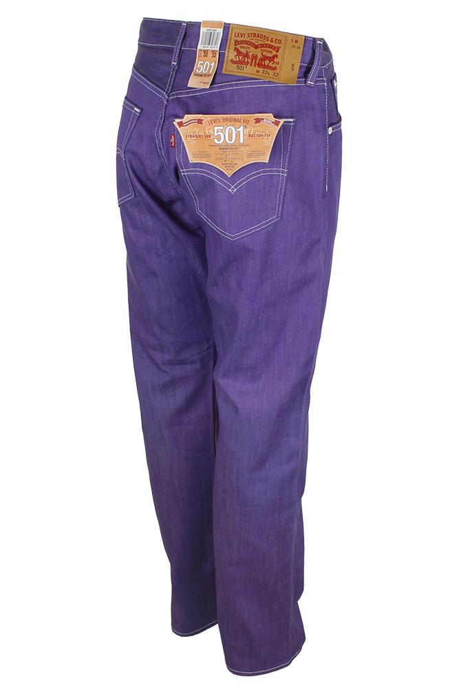 miniature 24 - Levi's Homme 501 Denim Original Shrink To Fit Braguette Boutonnée Jeans