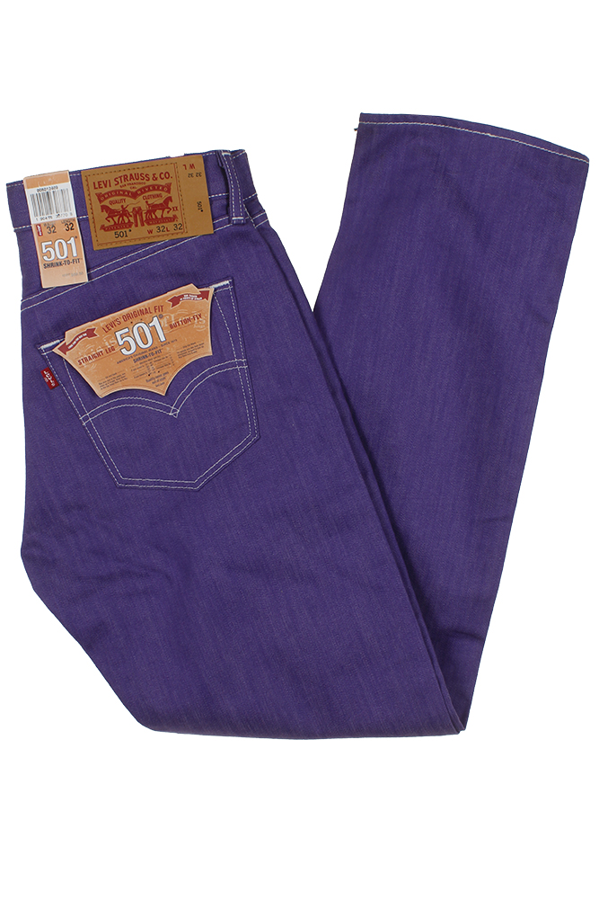 miniature 25 - Levi's Homme 501 Denim Original Shrink To Fit Braguette Boutonnée Jeans