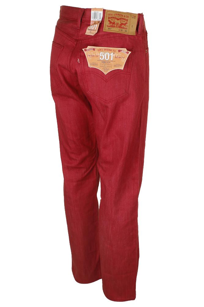 miniature 27 - Levi's Homme 501 Denim Original Shrink To Fit Braguette Boutonnée Jeans