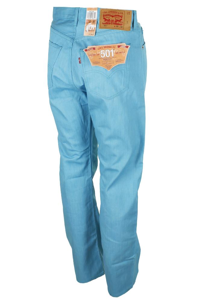 miniature 30 - Levi's Homme 501 Denim Original Shrink To Fit Braguette Boutonnée Jeans