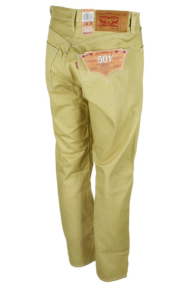 miniature 33 - Levi's Homme 501 Denim Original Shrink To Fit Braguette Boutonnée Jeans
