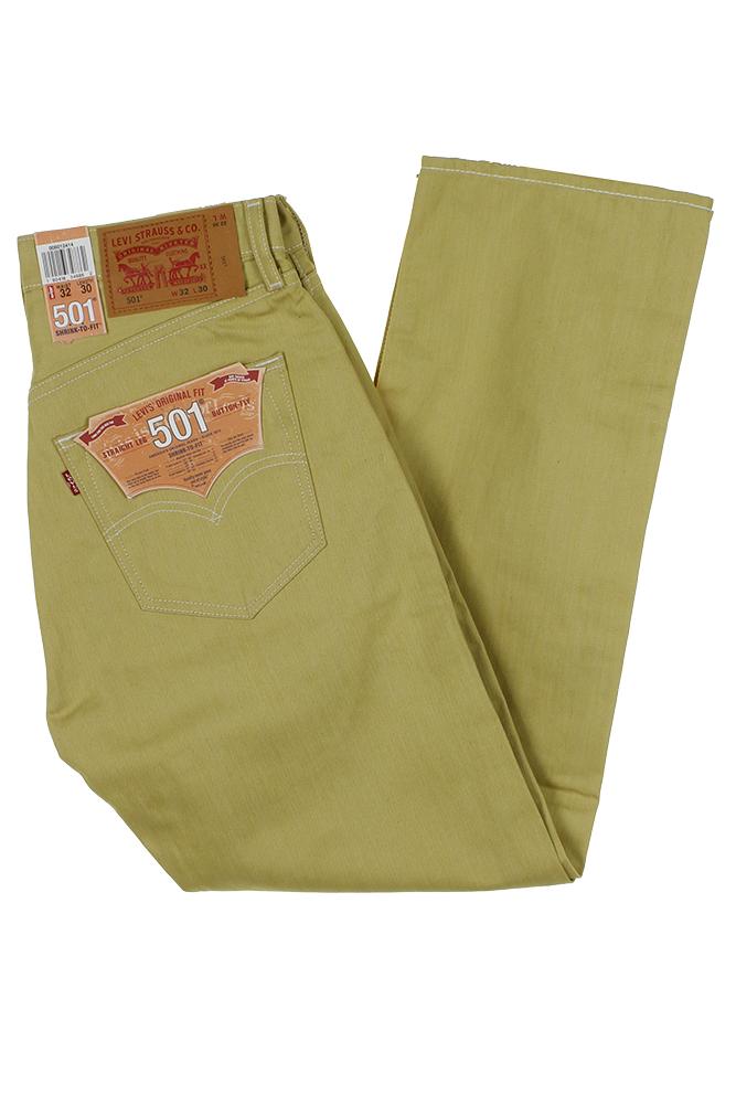 miniature 34 - Levi's Homme 501 Denim Original Shrink To Fit Braguette Boutonnée Jeans