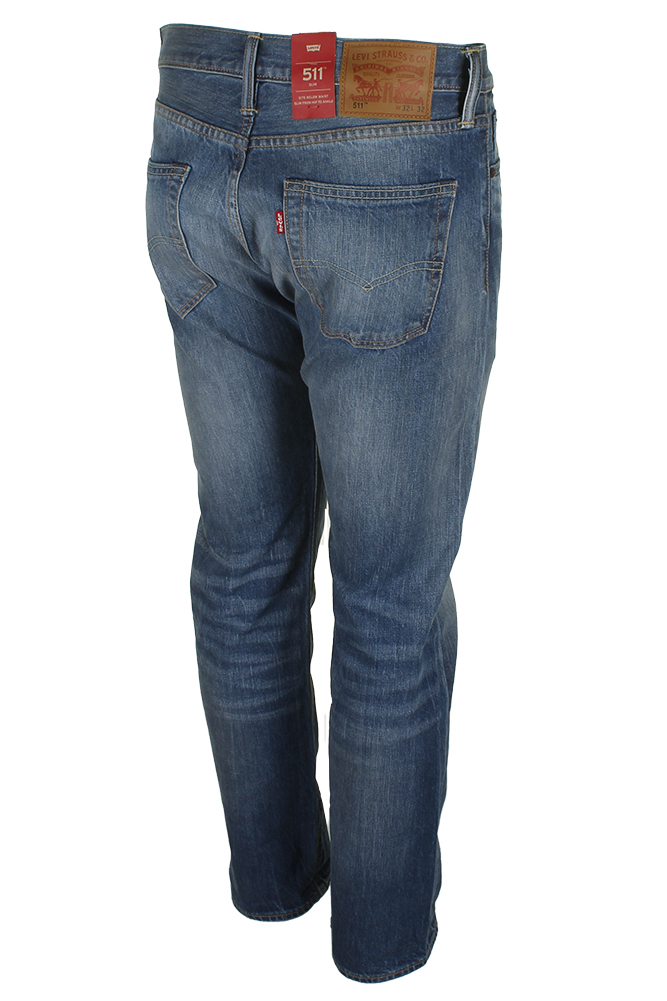 Levi-039-s-Men-039-s-511-Slim-Fit-Jeans thumbnail 13