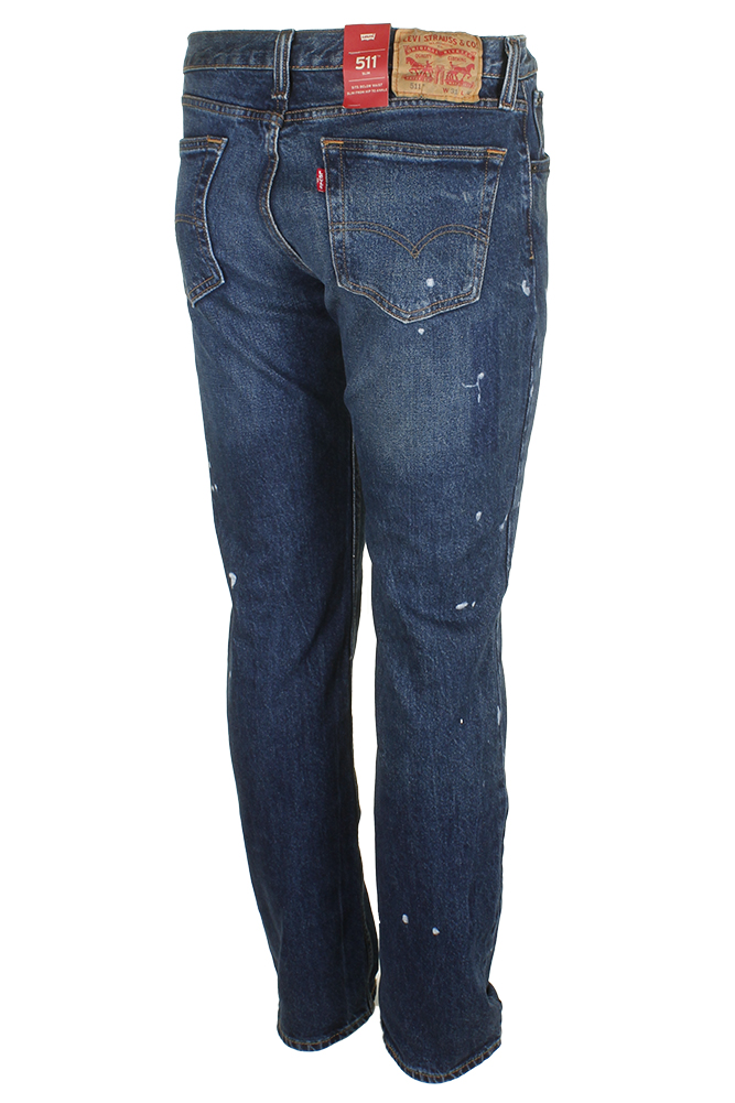 Levi-039-s-Men-039-s-511-Slim-Fit-Jeans thumbnail 7