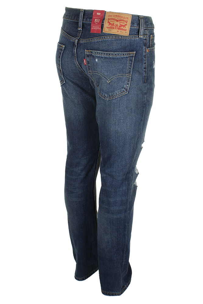 Levi-039-s-Men-039-s-511-Slim-Fit-Jeans thumbnail 19