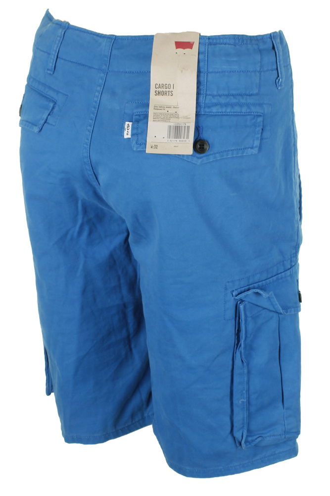 Levis-Men-039-s-Relaxed-fit-Below-the-knee-Cargo-I-Shorts thumbnail 9