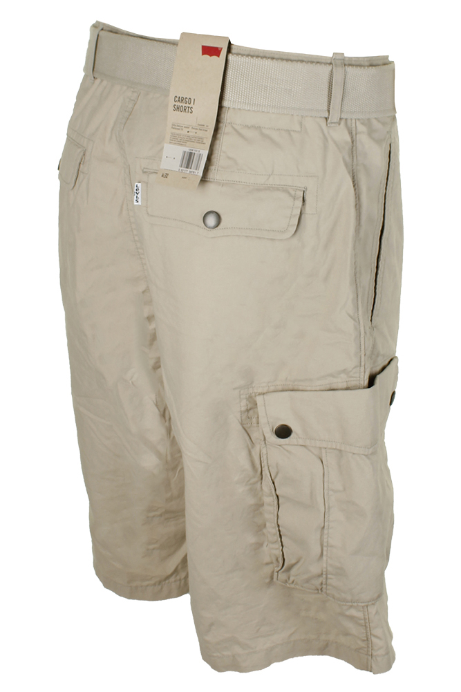 Levis-Men-039-s-Relaxed-fit-Below-the-knee-Cargo-I-Shorts thumbnail 3
