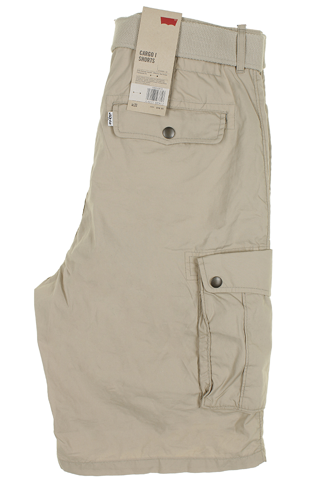 Levis-Men-039-s-Relaxed-fit-Below-the-knee-Cargo-I-Shorts thumbnail 4