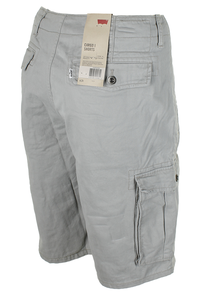 Levis-Men-039-s-Relaxed-fit-Below-the-knee-Cargo-I-Shorts thumbnail 15