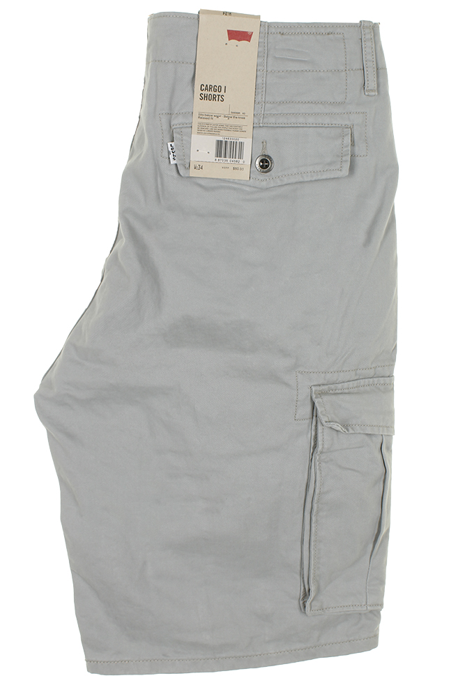 Levis-Men-039-s-Relaxed-fit-Below-the-knee-Cargo-I-Shorts thumbnail 16