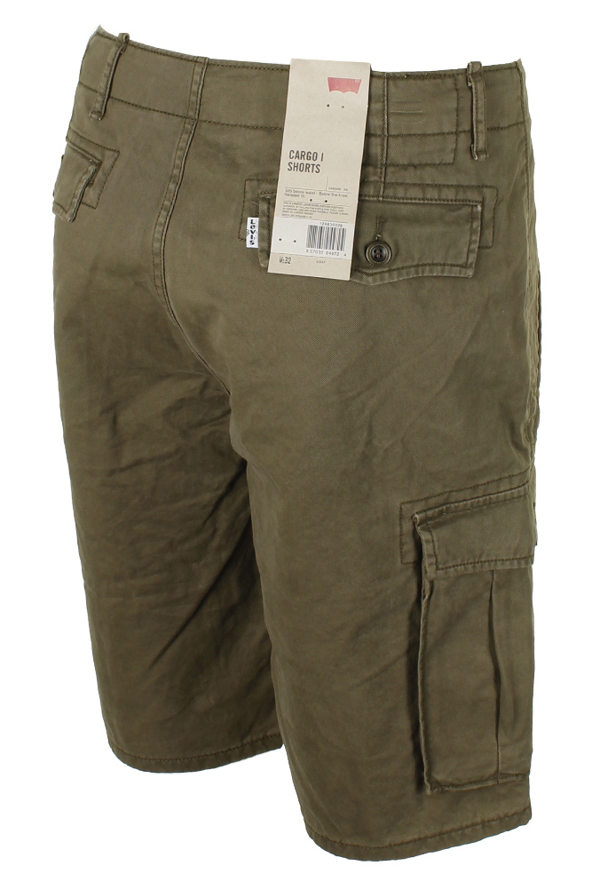 Levis-Men-039-s-Relaxed-fit-Below-the-knee-Cargo-I-Shorts thumbnail 18