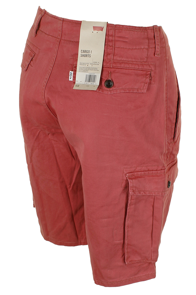 Levis-Men-039-s-Relaxed-fit-Below-the-knee-Cargo-I-Shorts thumbnail 21