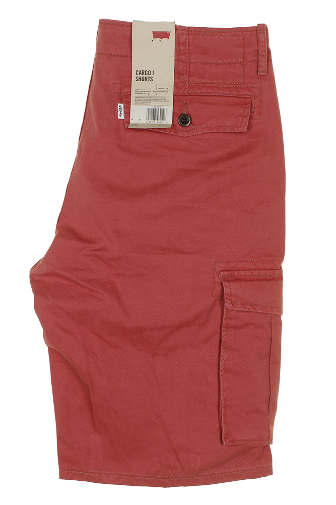 Levis-Men-039-s-Relaxed-fit-Below-the-knee-Cargo-I-Shorts thumbnail 22