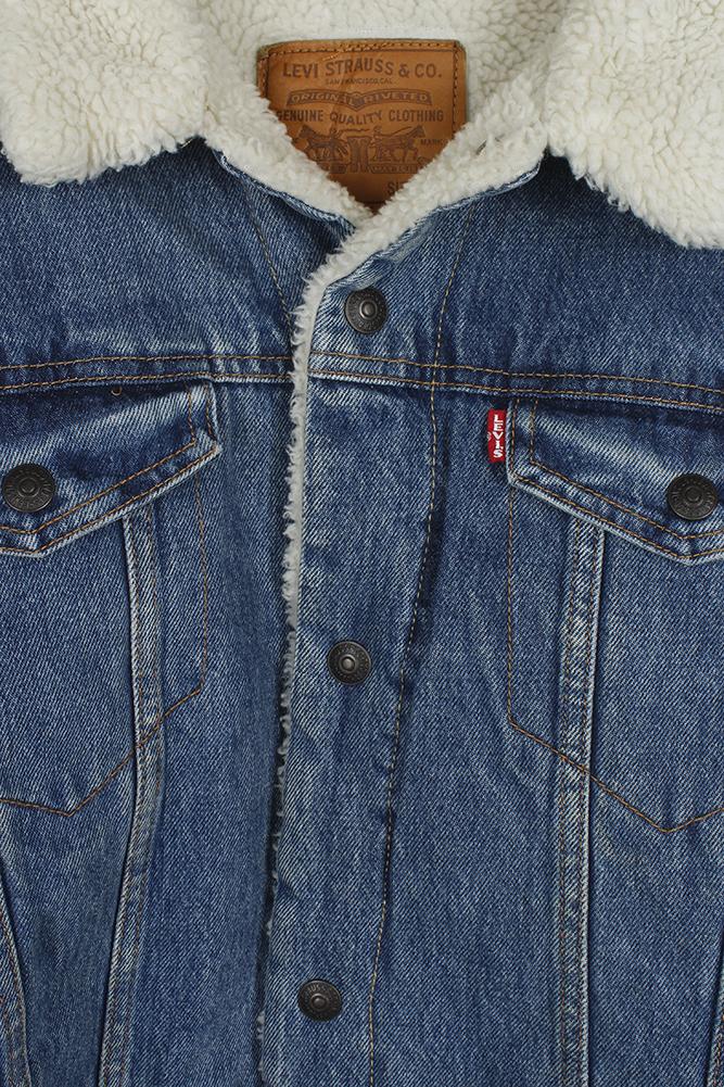 Levi-039-s-Men-039-s-Sherpa-Lined-Trucker-Jacket thumbnail 11
