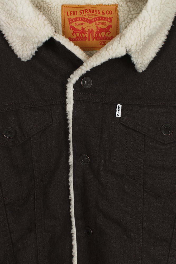 Levi-039-s-Men-039-s-Sherpa-Lined-Trucker-Jacket thumbnail 14