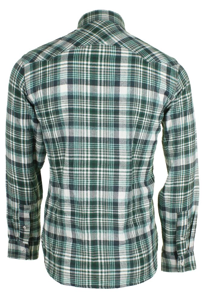 Levi-039-s-Men-039-s-Long-Sleeve-Western-Cut-Snap-Plaid-Shirt thumbnail 27