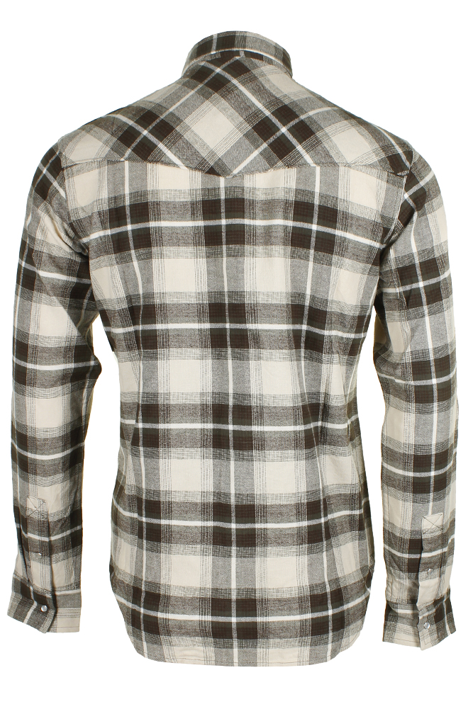Levi-039-s-Men-039-s-Long-Sleeve-Western-Cut-Snap-Plaid-Shirt thumbnail 18